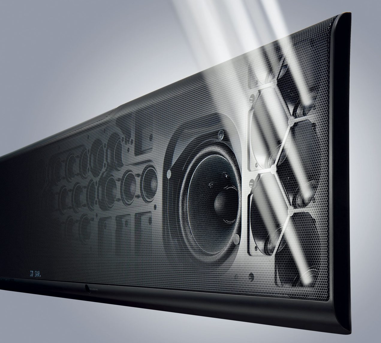soundbar geluidsprojector plafond 3d-sound