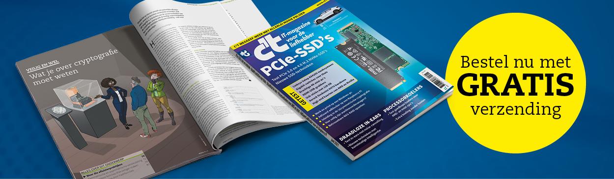 CT Promotie CT06 gratis verzendkosten PCIe-ssd's