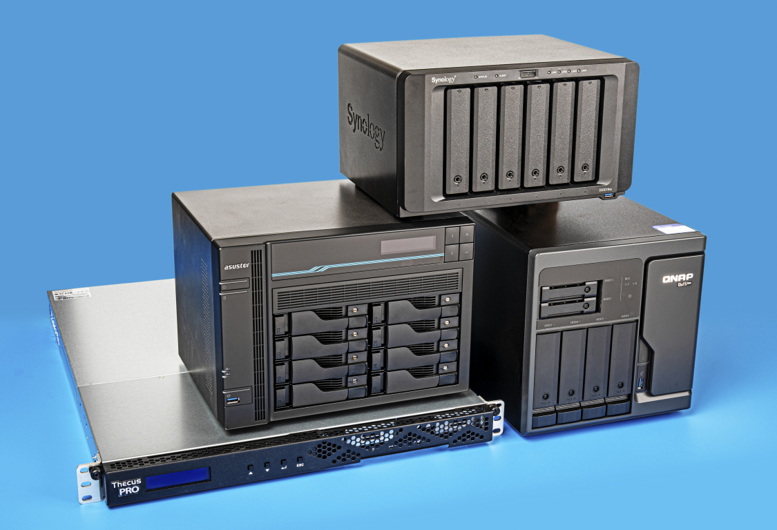 NAS met 10-gigabit snelheid review test mulit gigabit NAS netwerkopslag