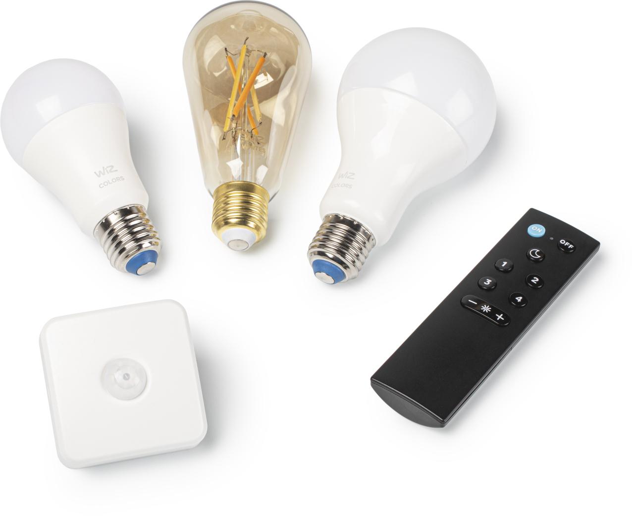 Philips Hue alternatief Wiz slimme verlichting review lamp afstandsbediening bewegingsmelder