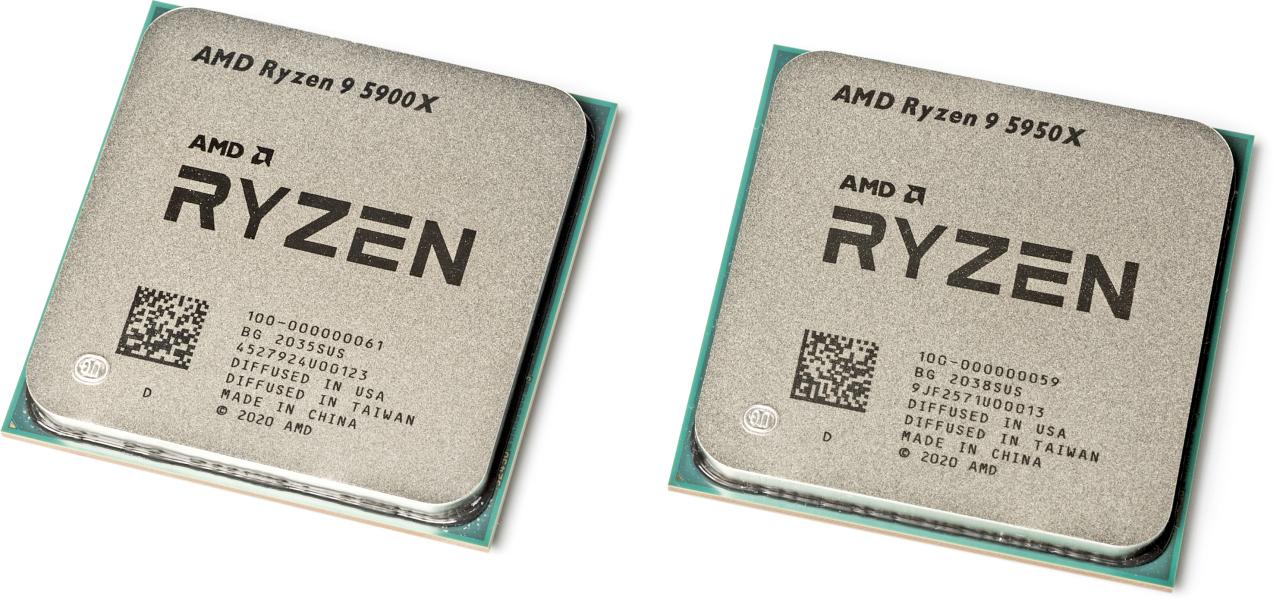 Ryzen 9 5900X en 5950X review snelste AMD processor CPU AMD Ryzen 5000