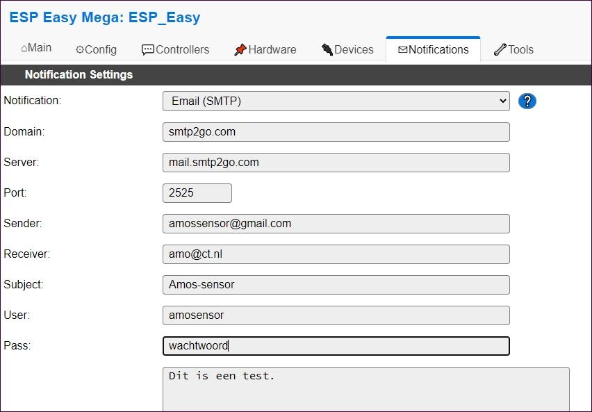 ESPeasy; SMTP-client