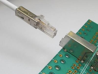 SPE-connector van CommScope in het LC-formaat netwerkbekabeling