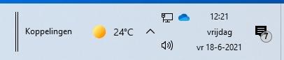 Windows taakbalk