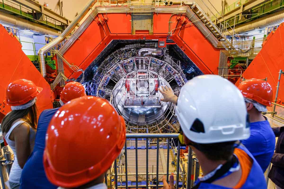 Zwitserland CERN inside