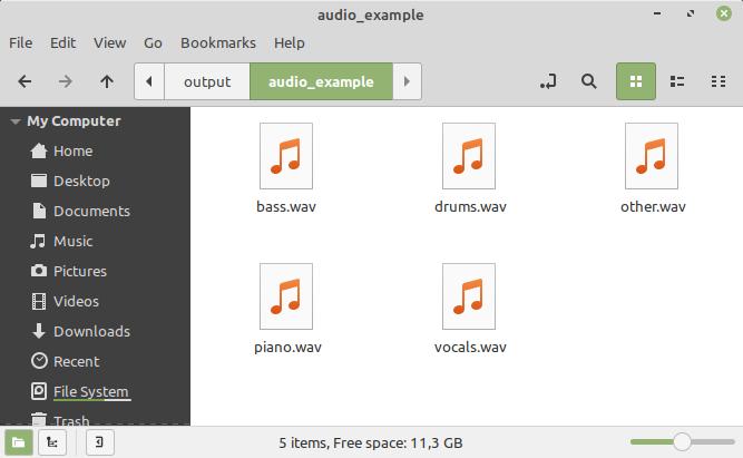 karaoke versie maken van muzieknummer of splitsen in 4 of 5 sporen