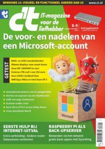 ct magazine 8-9/2021 cover microsoft account