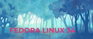 fedora 34 linux