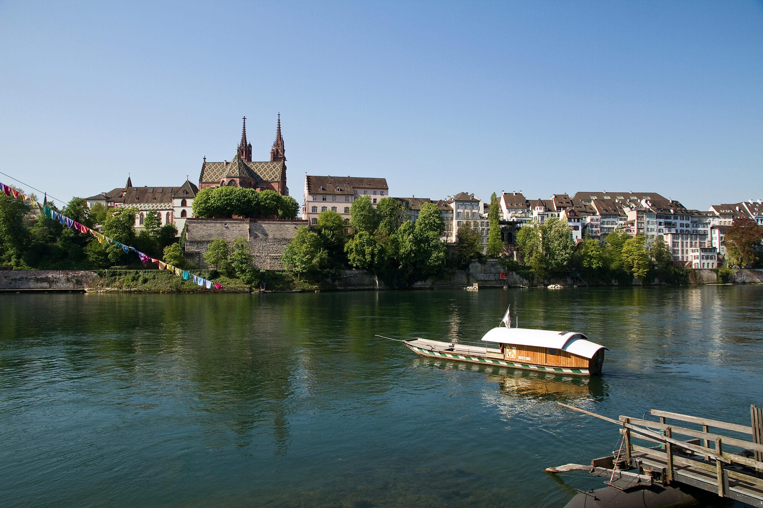 In het schilderachtige Basel vind je moderne IT-bedrijven op het gebied van biotechnologie.