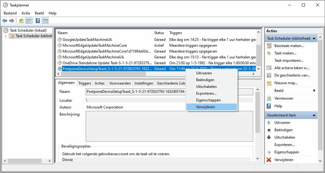 Microsoft account melding uitschakelen herinnering aanmelden Microsoft-account
