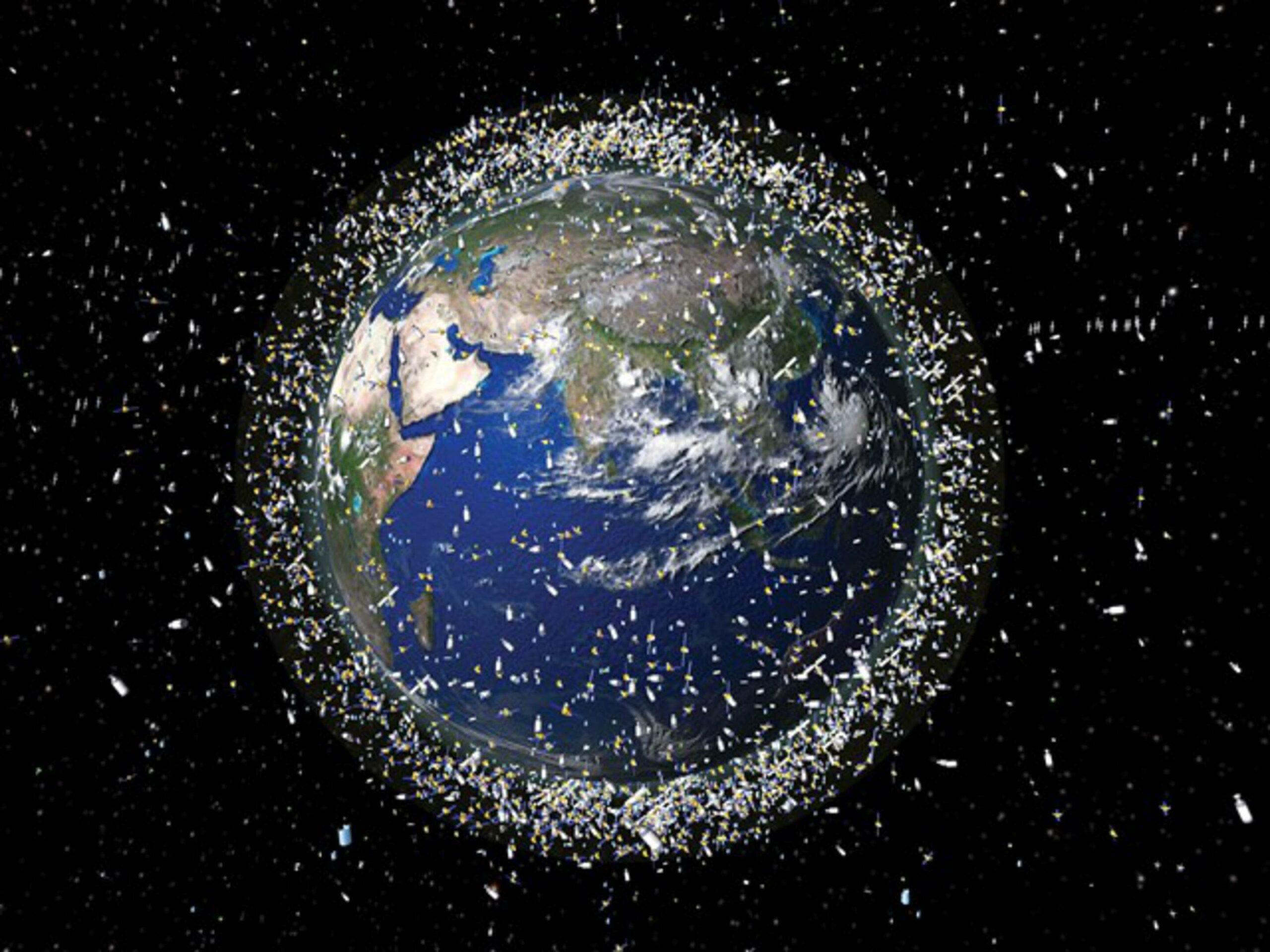 satellieten botsingen SpaceX OneWeb