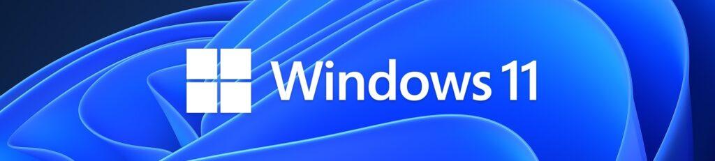 Windows 11 logo banner