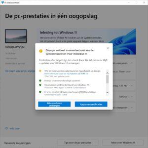 Windows 11 PC Health Check