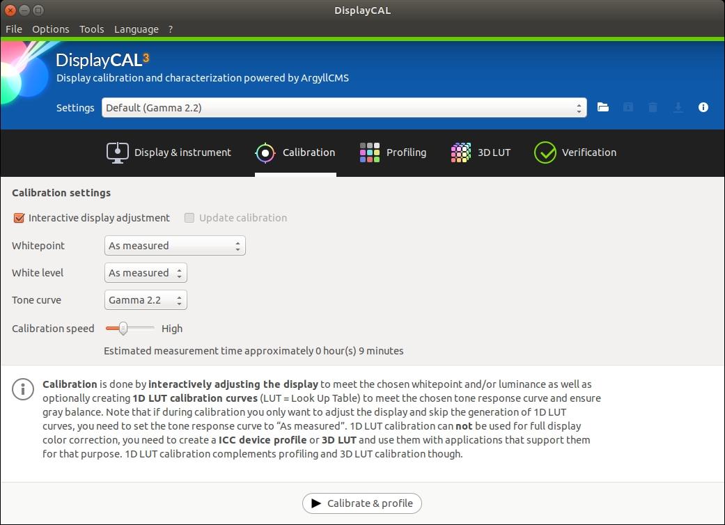 Monitor kalibratie kleurbeheer Linux