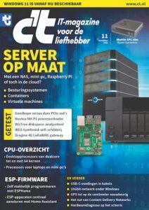 c't 11 - 2021 - cover - server op maat