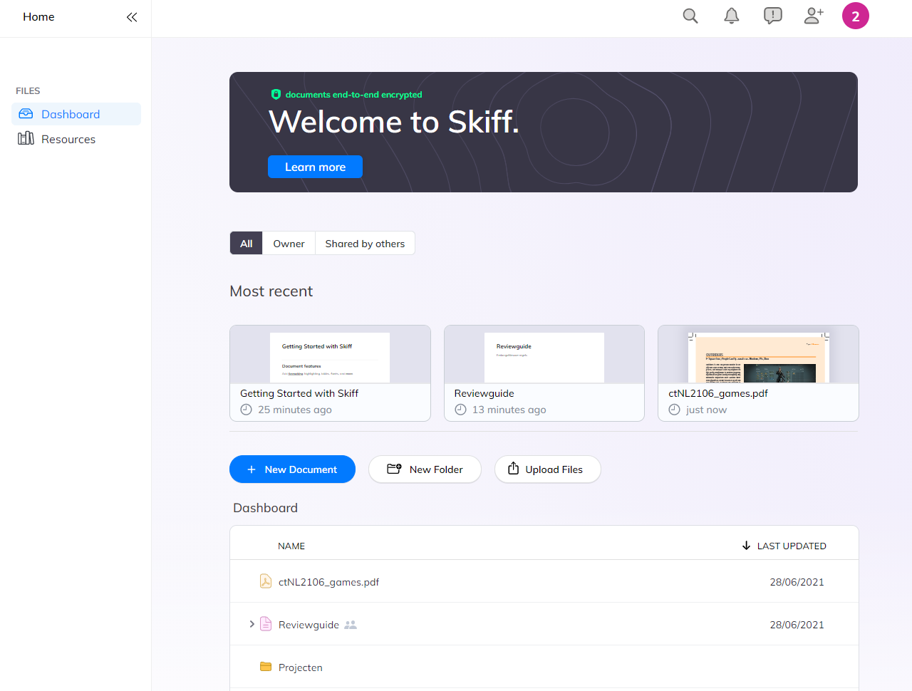 Skiff encrypted opensource samenwerking